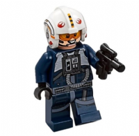 Lego Star Wars: Y-Wing Pilot with Blaster - Minifigure